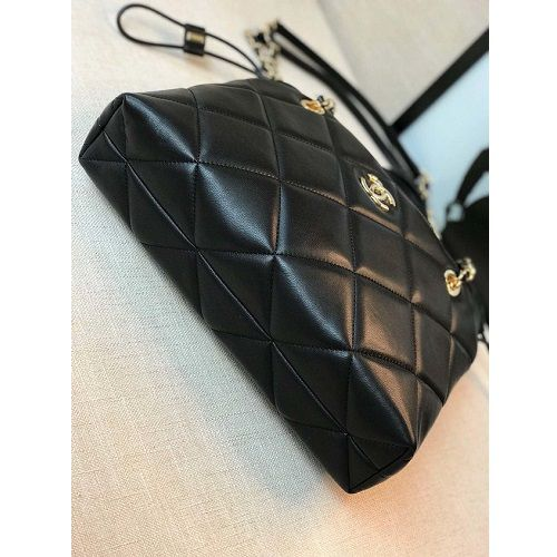 BOLSA CHANEL LAMBSKIN SHOPPING BAG AS0985