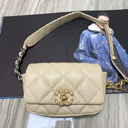 BOLSA CHANEL LAMBSKIN WAIST BAG AS1163