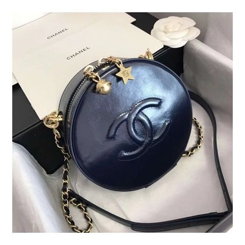 BOLSA CHANEL PLANET SHOULDER BAG CALFSKIN LEATHER A93807