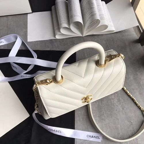 BOLSA CHANEL SMALL FLAP BAG TOP HANDLE A92990