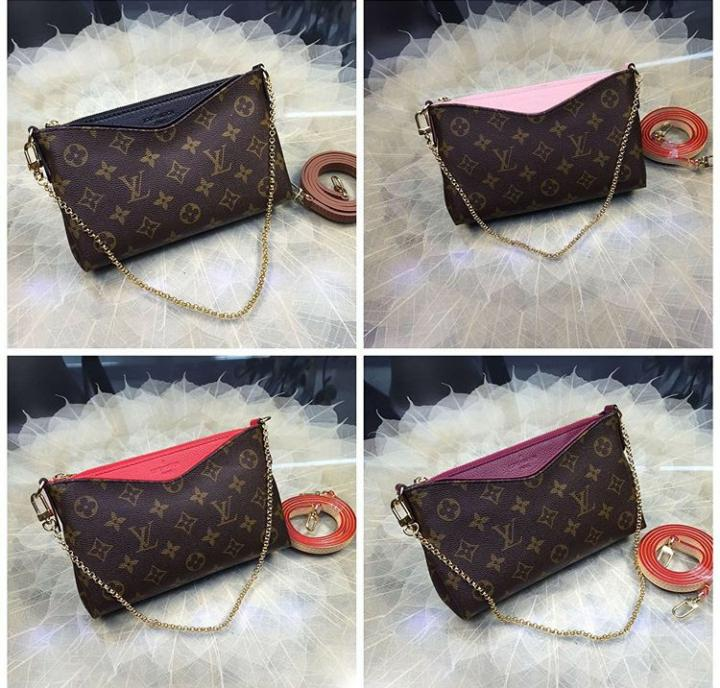 BOLSA CLUCTH LOUIS VUITTON PALLAS MONOGRAM M41639