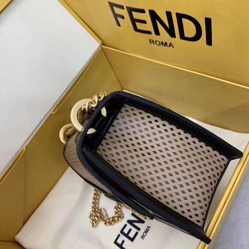 BOLSA FENDI KAN U MINI BAG 8BT312