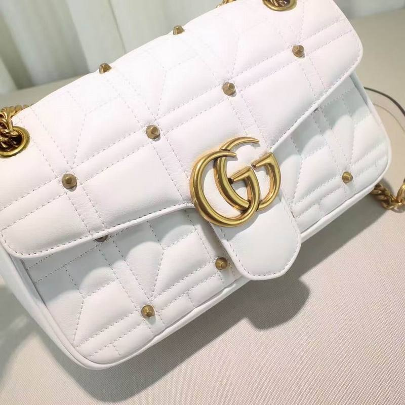 Bolsa Gucci GG Marmont matelassé shoulder bag