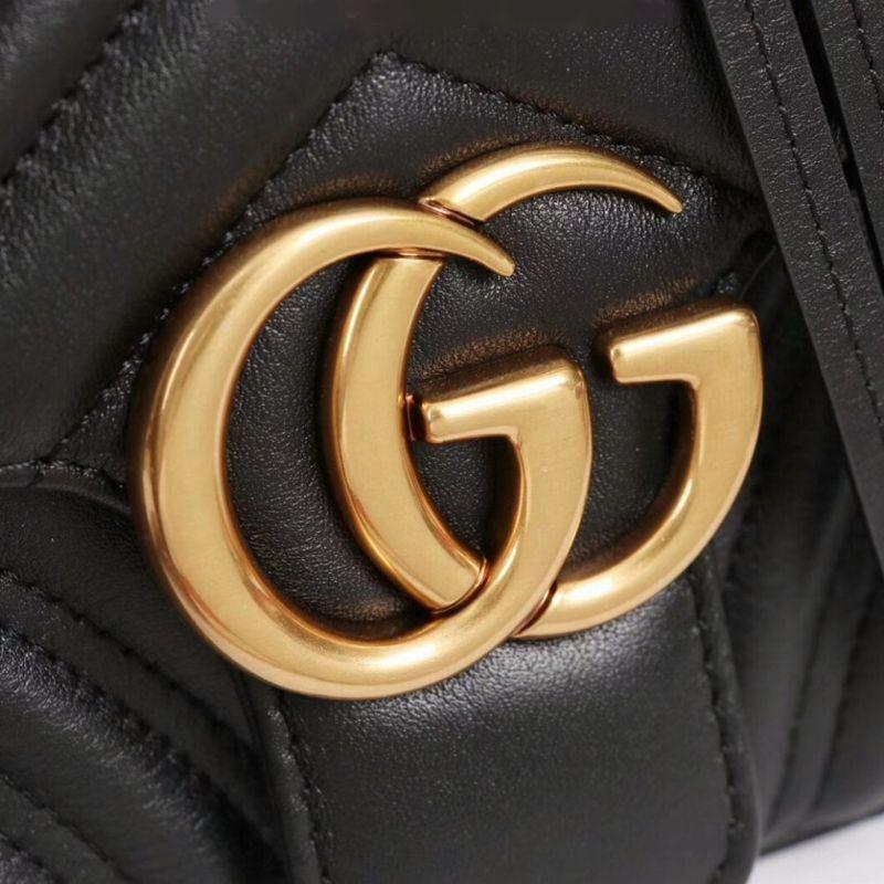 Bolsa Gucci Marmont Matelasse Small 498100