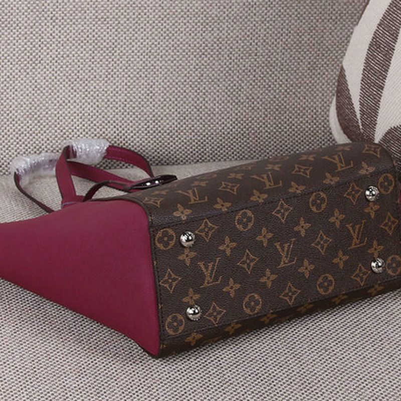 BOLSA LOUIS VUITTON LOCKME CABAS MONOGRAM