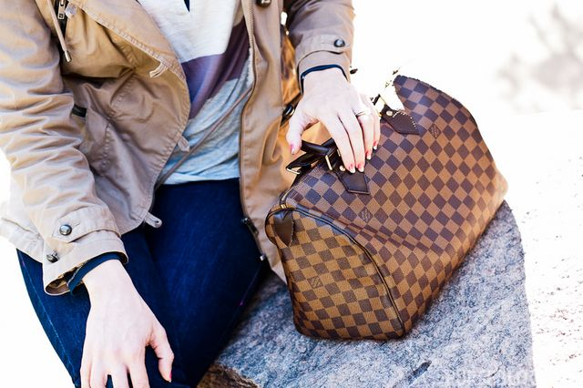 Bolsa Louis Vuitton Speedy Bandouliere Damier Ebeme