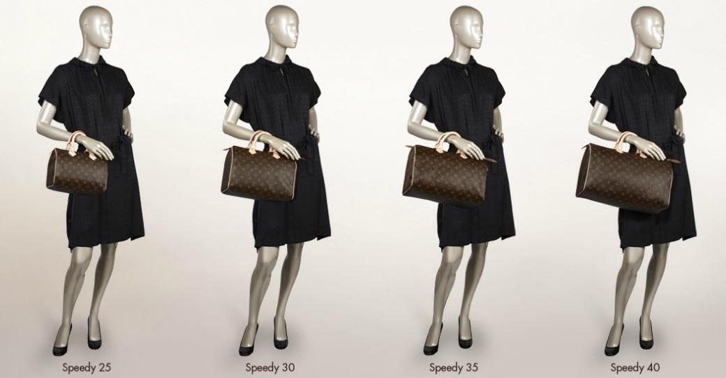 Bolsa Louis Vuitton Speedy Bandouliere Monogram Canvas