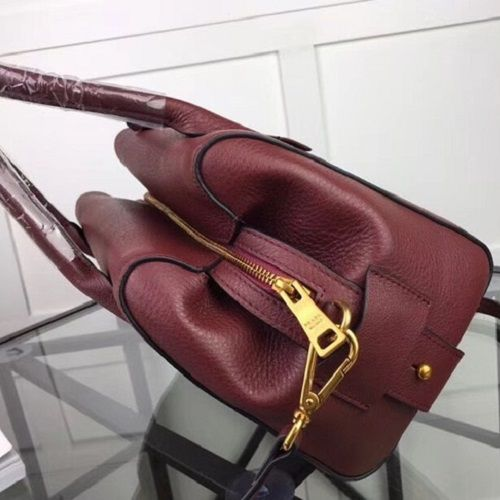 BOLSA PRADA CALF LEATHER BURGUNDY