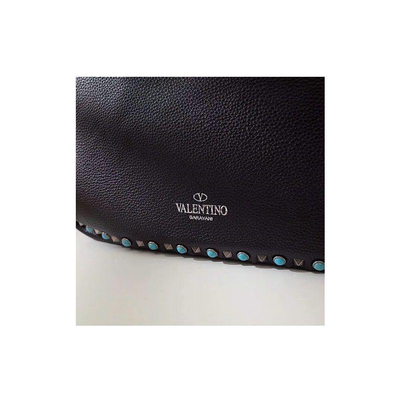 Bolsa Valentino Garavani Rockstud reversible leather shopper