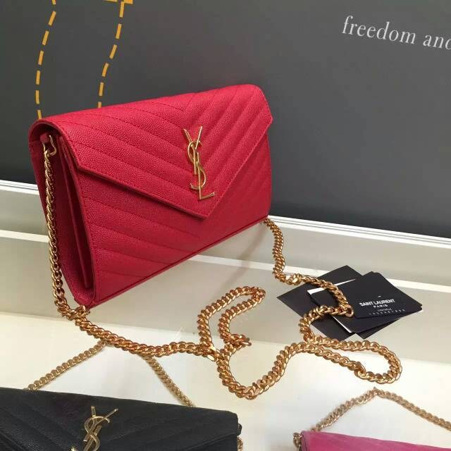 Bolsa Yves Saint Laurent Classic Monogram Chain