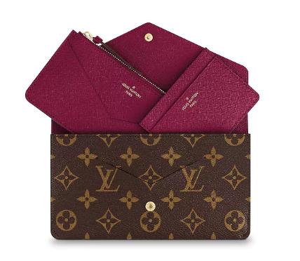 Carteira Louis Vuitton Monogram Emilie