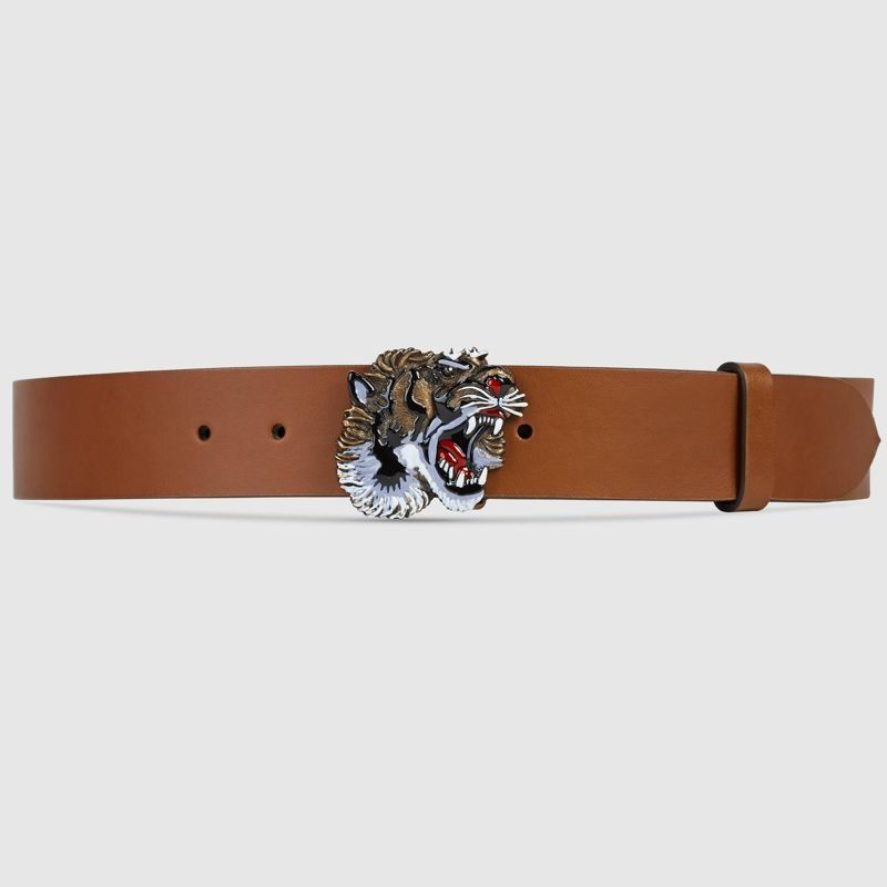 Cinto Gucci Tiger Buckle Unissex