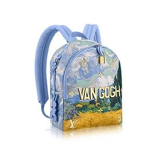 Mochila Louis Vuitton Palm Springs Van Gogh Jeff Koons