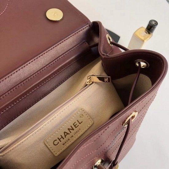 MOCHILA CHANEL COCO CHEVRON  A57555