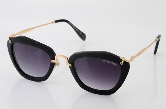 Óculos de Sol Miu Miu Noir