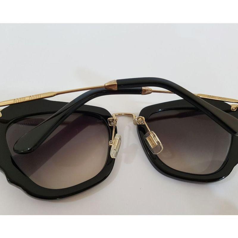 Óculos de Sol Miu Miu  Noir COMPLETO