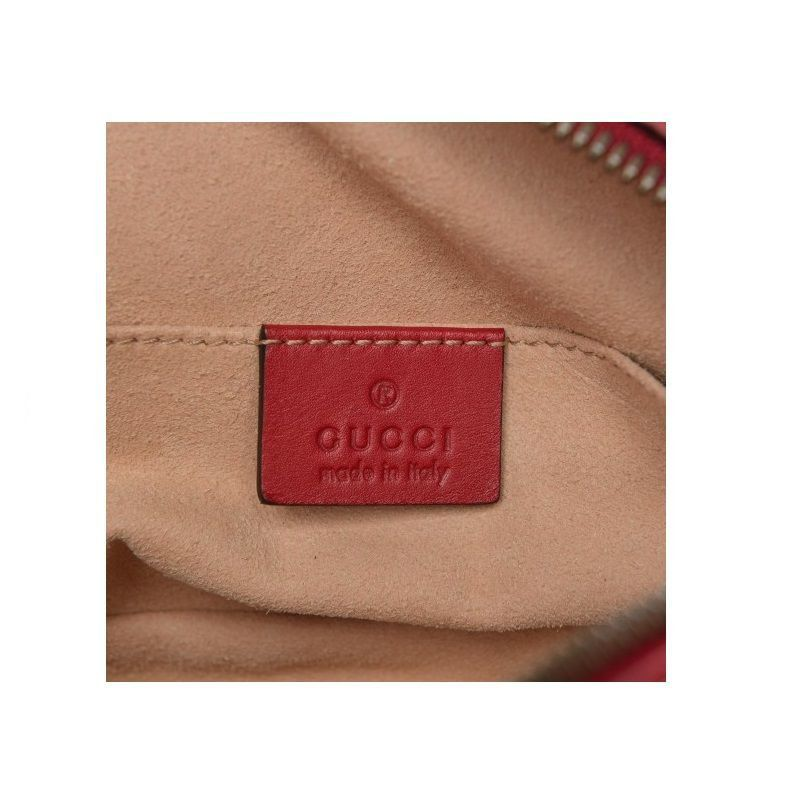 POCHETE GUCCI GG MARMONT MATELASSE LEATHER BELT 476434