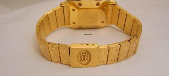 Relógio Cartier Santos W20010C5