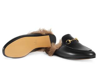 Sapato Gucci Slipper Princetown Unissex