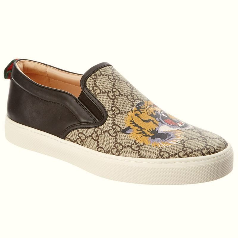 Tênis Gucci Tiger Slip on Unissex