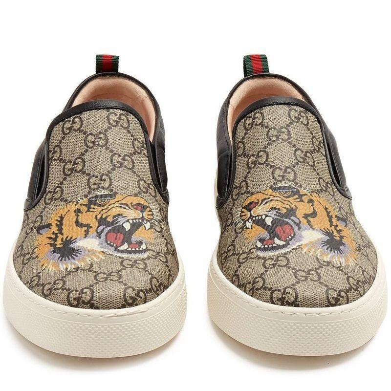 Tênis Gucci Tiger Slip on Unissex
