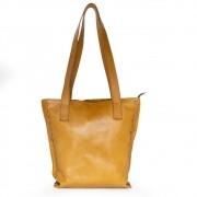 Bolsa de Couro Amarela - Cintos Exclusivos - Feminino