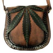 Bolsa de Couro Cannabis - Cintos Exclusivos - Feminino
