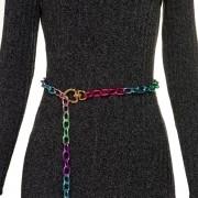 Corrente de Metal Colorida - Cintos Exclusivos - Feminino
