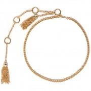 Corrente de Metal Dourado - Cintos Exclusivos - Feminino