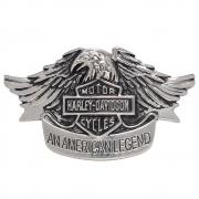 Fivela  em Prata escurecido - Cintos Exclusivos - Feminino