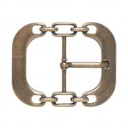 Fivela  Ouro Velho Elos - Cintos Exclusivos - Feminino