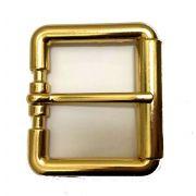 Fivela Simples Dourada - Cintos Exclusivos - Feminino