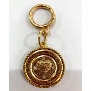 Pingente Proteção Dourado - Cintos Exclusivos - Feminino