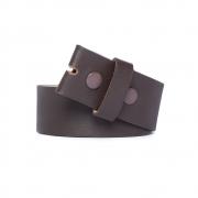 Tira para Cinto de Marrom - 4cm - Cintos Exclusivos - Feminino