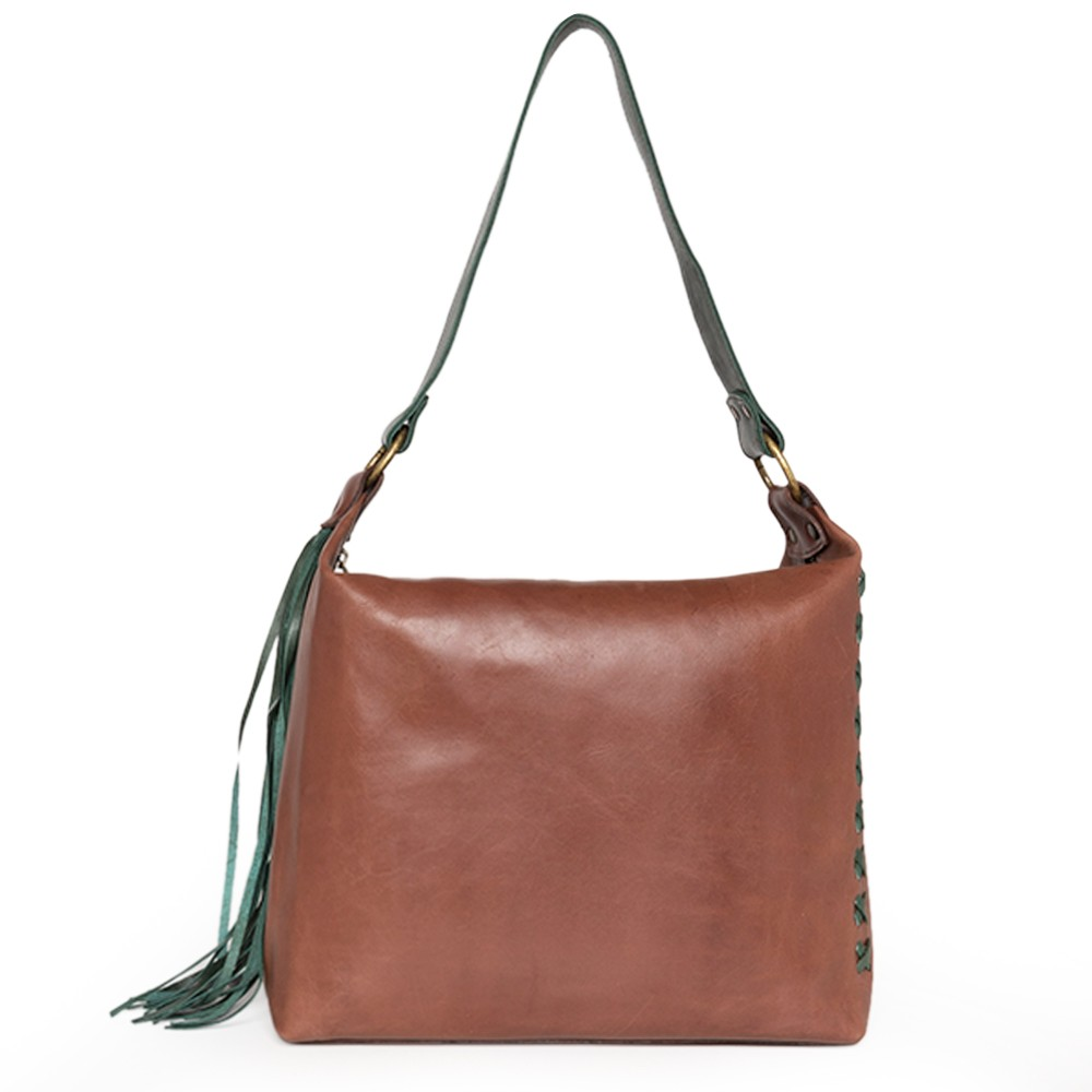 Bolsa de Couro Caramelo - Cintos Exclusivos - Feminino