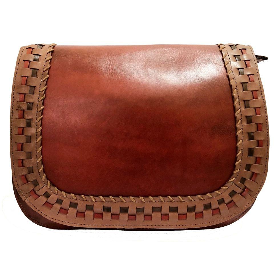Bolsa de Couro  Vermelho - Cintos Exclusivos - Feminino