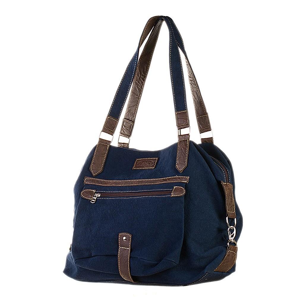 Bolsa de Lona Azul - Cintos Exclusivos - Feminino