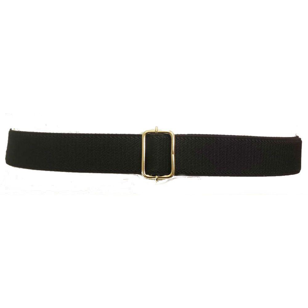 Cinto de  Elástico Preto - Cintos Exclusivos - Feminino