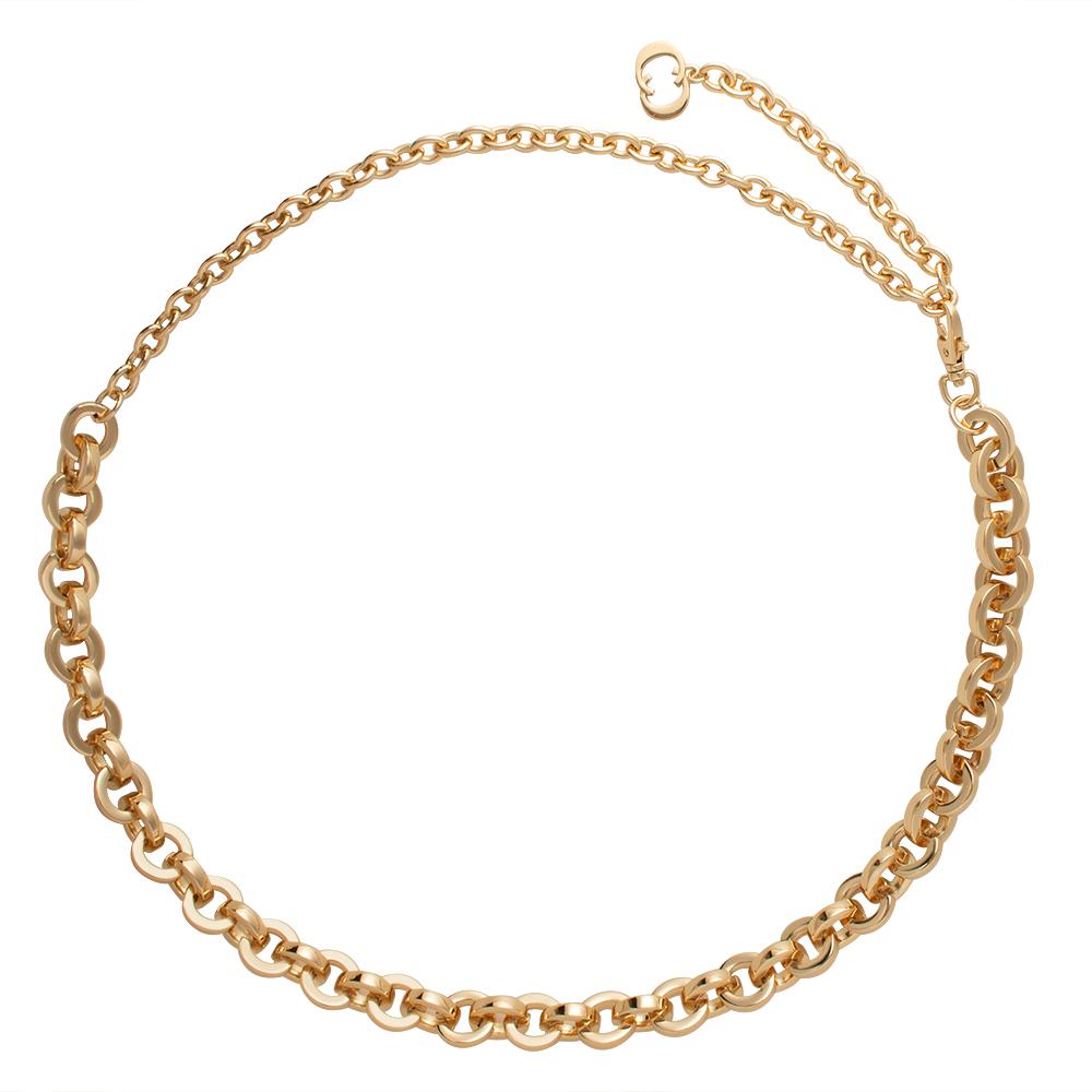 Corrente de Metal Elos no banho Dourado VC - Linha Premium VC - Feminino