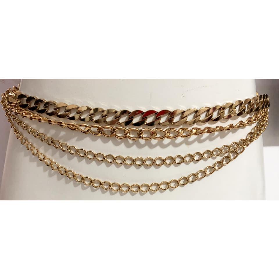 Corrente Dourada - Cintos Exclusivos - Feminino