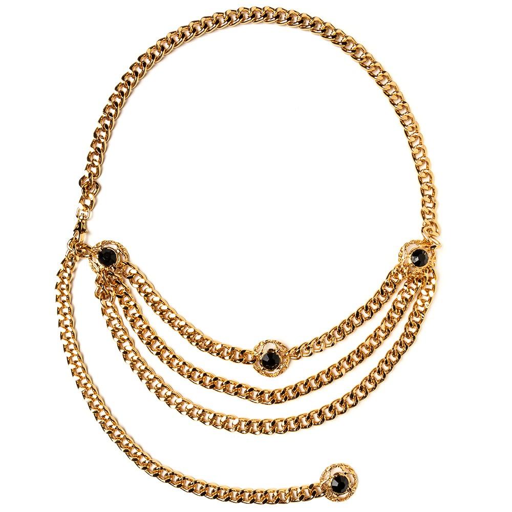 Corrente Dourada com Aplicações- Linha Premium VC- Feminino
