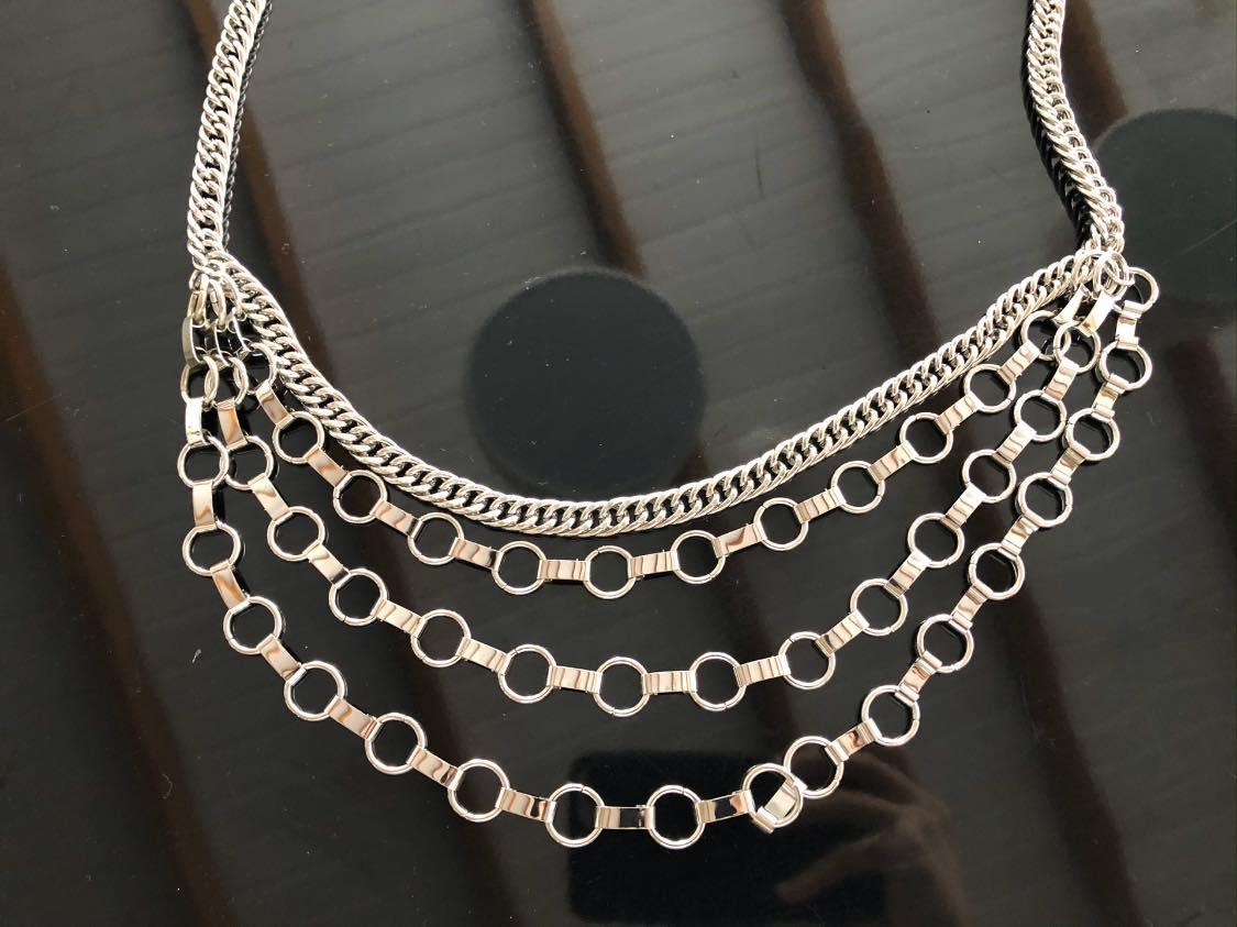 Corrente Prata - Cintos Exclusivos - Feminino