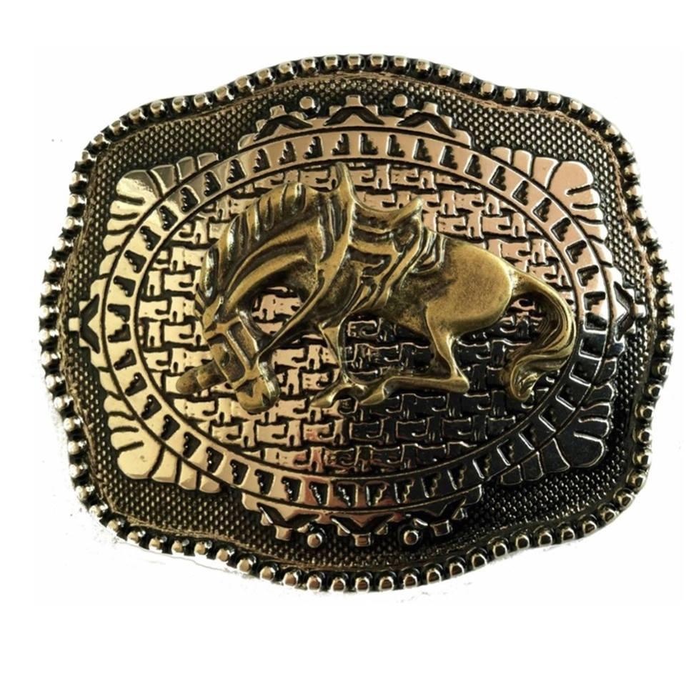 Fivela  Country Cavalo - Cintos Exclusivos - Unissex