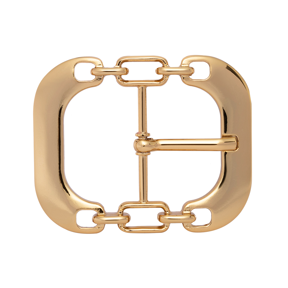Fivela Dourada  Elos - Cintos Exclusivos - Feminino
