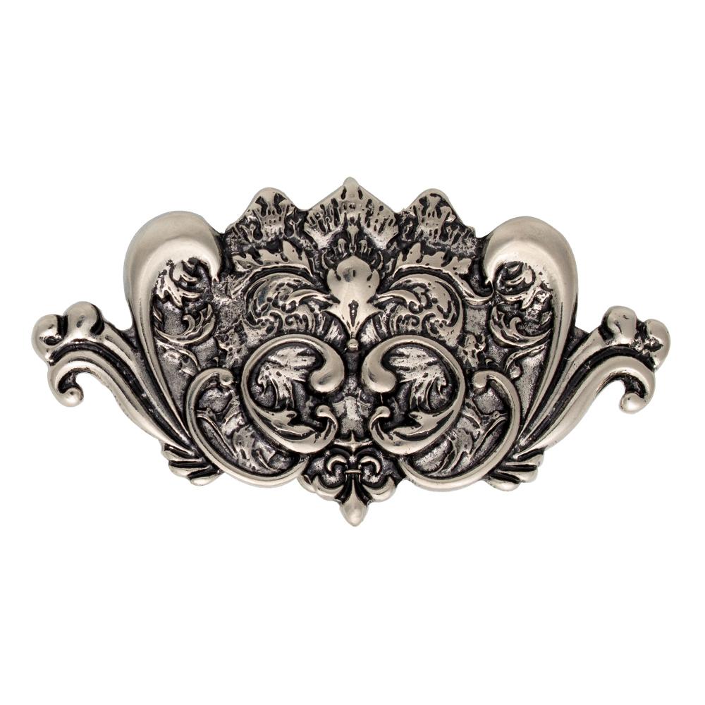 Fivela Simples Arabesco  Prata - Cintos Exclusivos - Feminino