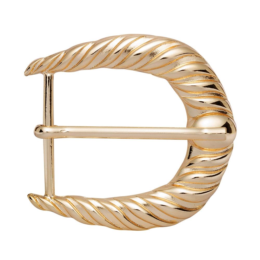 Fivela Simples Dourado Suave - Cintos Exclusivos - Feminino