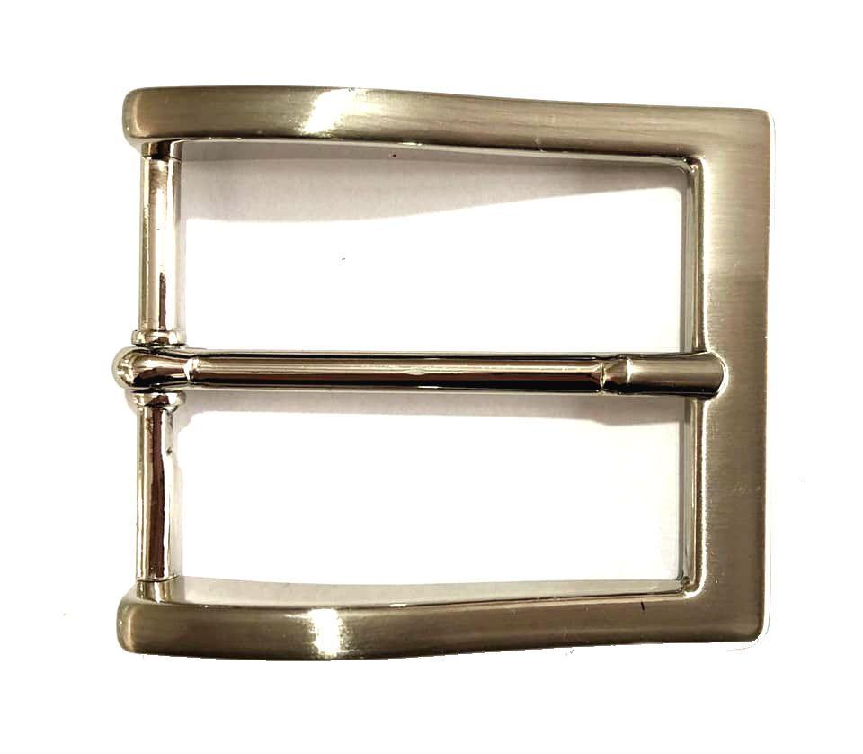 Fivela Simples Prata - Cintos Exclusivos - Feminino