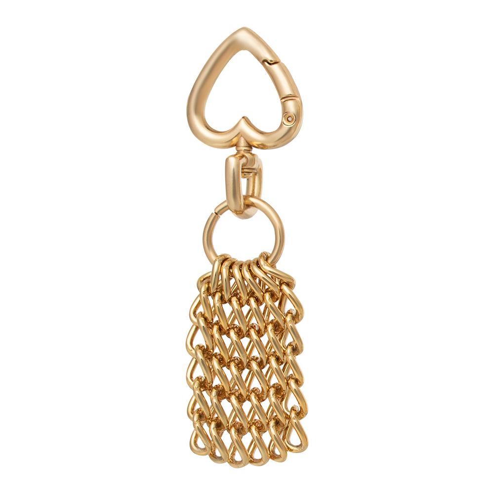 Pingente Corrente  Dourada - Cintos Exclusivos - Feminino