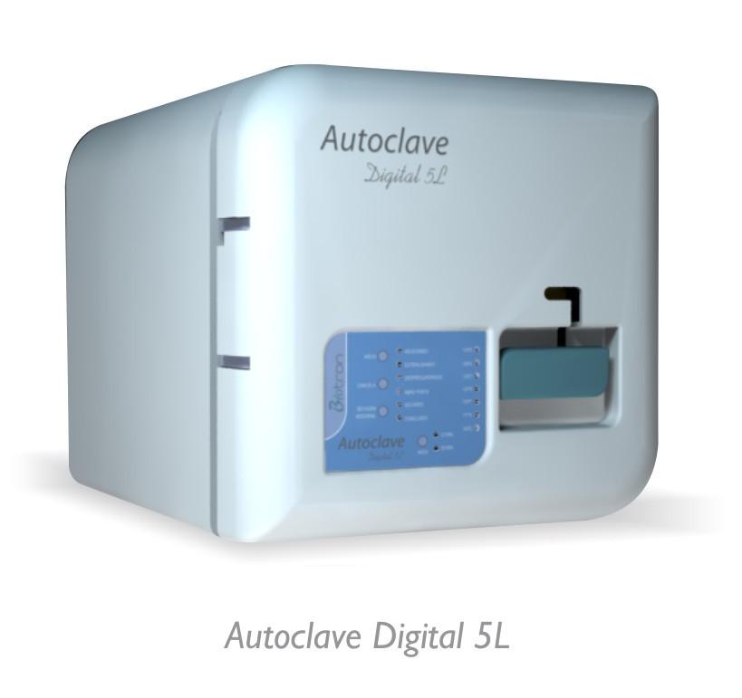 AUTOCLAVE DIGITAL 05 LITROS