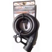 Cadeado Max Trava Para Bicicleta C Chave 12mmx1,5m Mxtra0008
